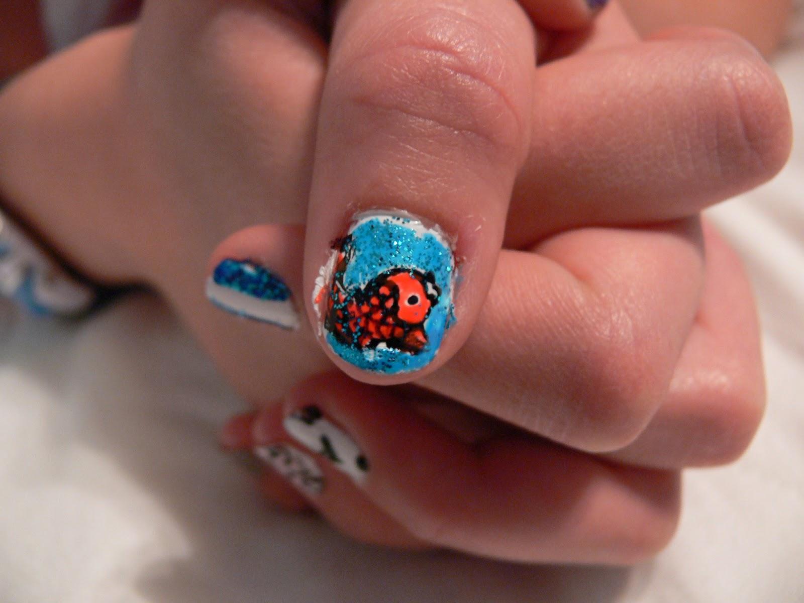 Asianstyle nailart: Asian Nail Art