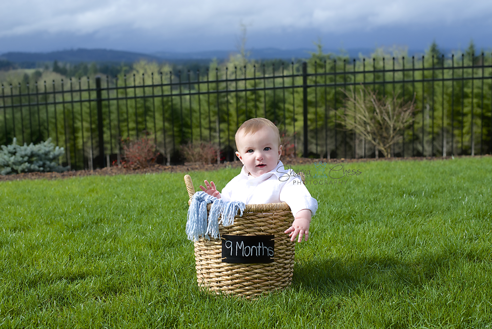 Eugene, OR baby photography