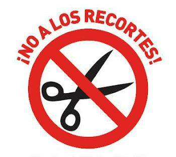 ¡¡NO A LOS RECORTES!!