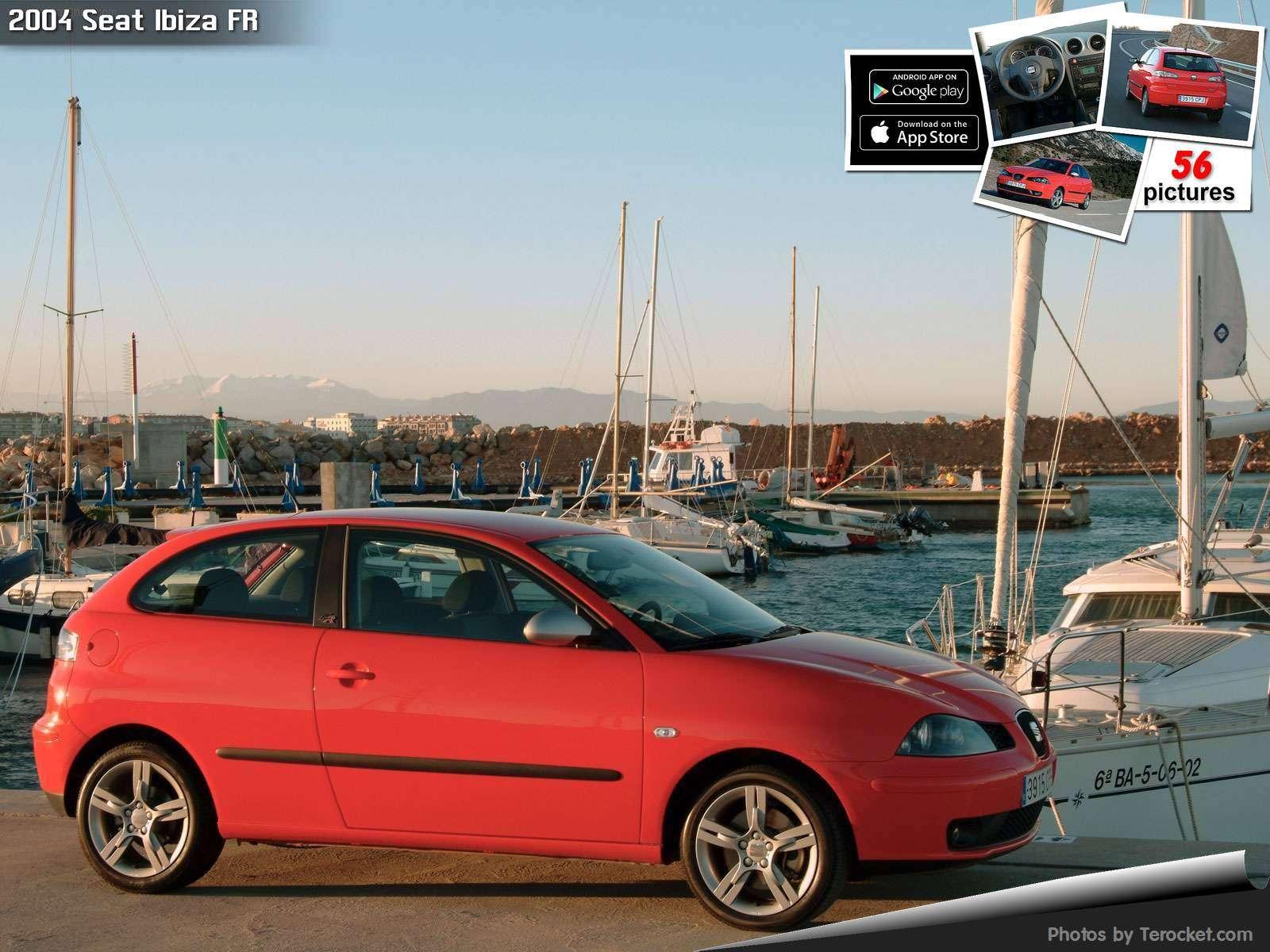 Hình ảnh xe ô tô Seat Ibiza FR 2004 & nội ngoại thất