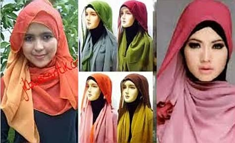 Pashmina Sifon Bolak Balik | Azzahidah Collections