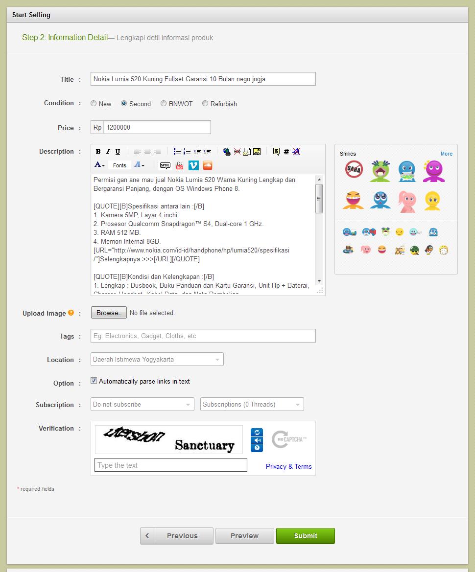 Cara Pasang Iklan dan Menjual Barang di Forum Kaskus FJB