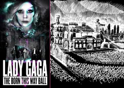 Dates & Schedule of Lady Gaga 2012 Tour