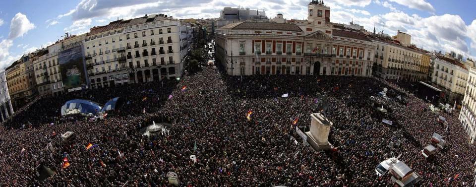 Un mitin de Podemos para republicanos 31-E