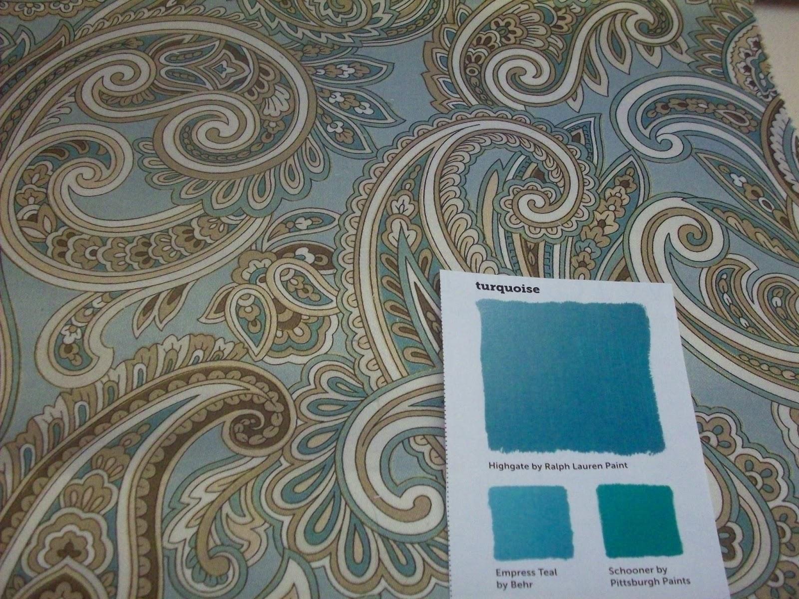 karen ann 39 s window treatments turquoise paints and fabrics. Black Bedroom Furniture Sets. Home Design Ideas