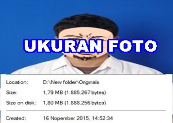 Cara mengetahui ukuran foto