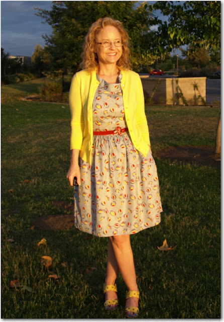 J cre yellow dress painting