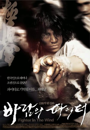 Fighter in the Wind 2004 poster