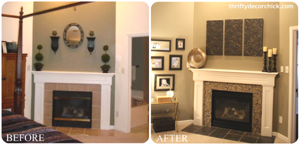 DIY Fireplace Makeovers, Faux Mantels & Shelves