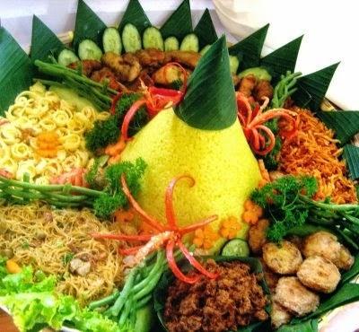 resep cara membuat nasi kuning guri komplit enak spesial