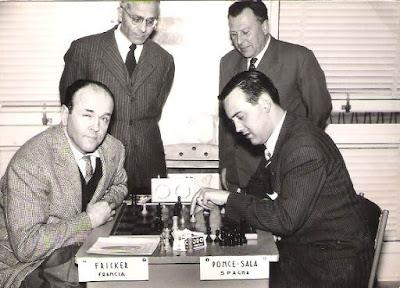 Partida de ajedrez Ponce Sala vs. Jean Fricker