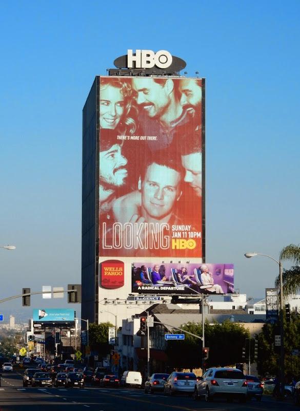 Giant Looking season 2 billboard Sunset Strip
