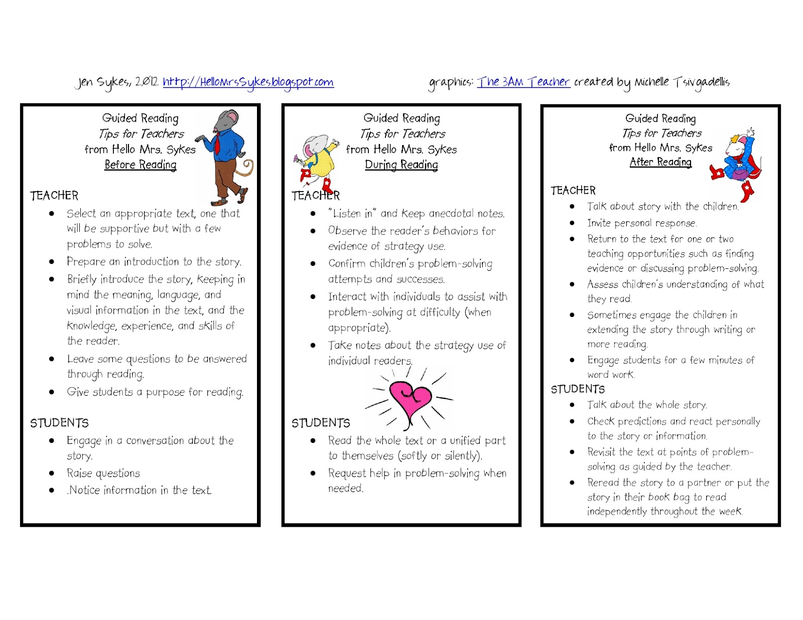 This is a goal setting bookmark for the students! They can fill out what their goals are for the next time you meet with them. (In my case I would probably ...  sc 1 st  Hillary\u0027s Teaching Adventures & Guided Reading!! - Hillary\u0027s Teaching Adventures