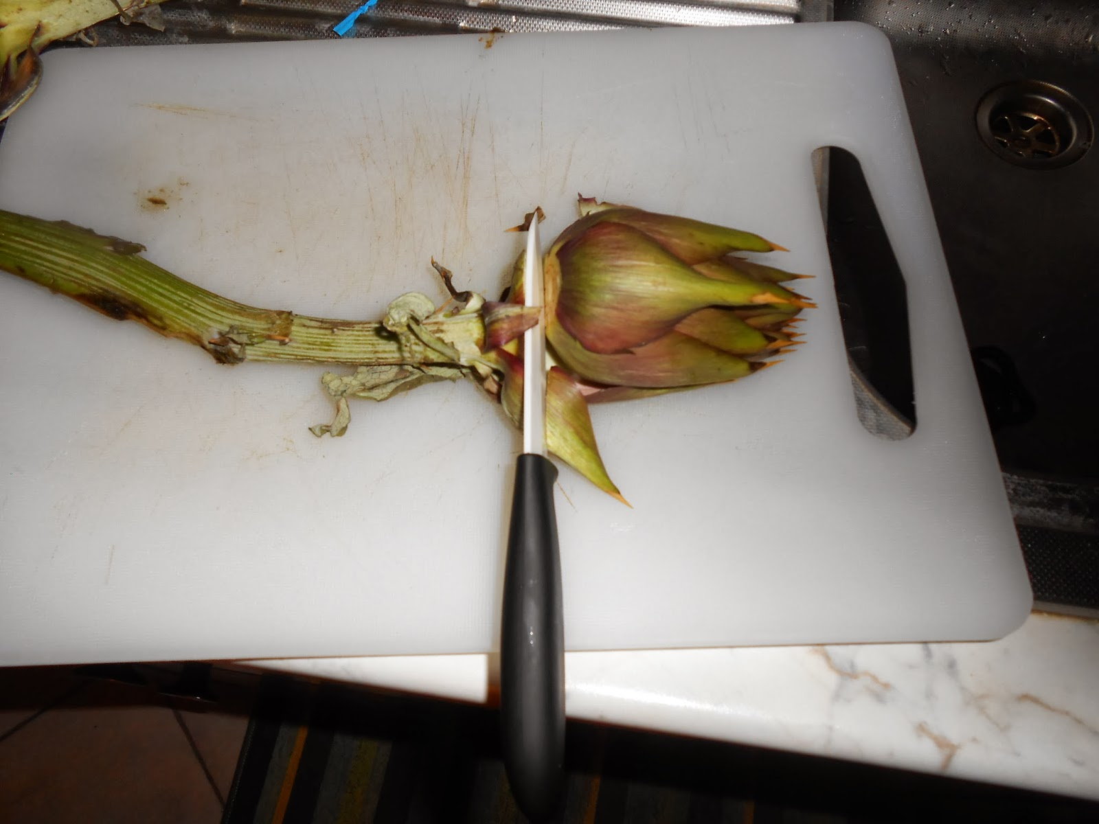 How To Clean And Prepare An Artichoke Heart