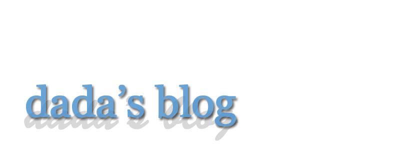 Dada's Blog