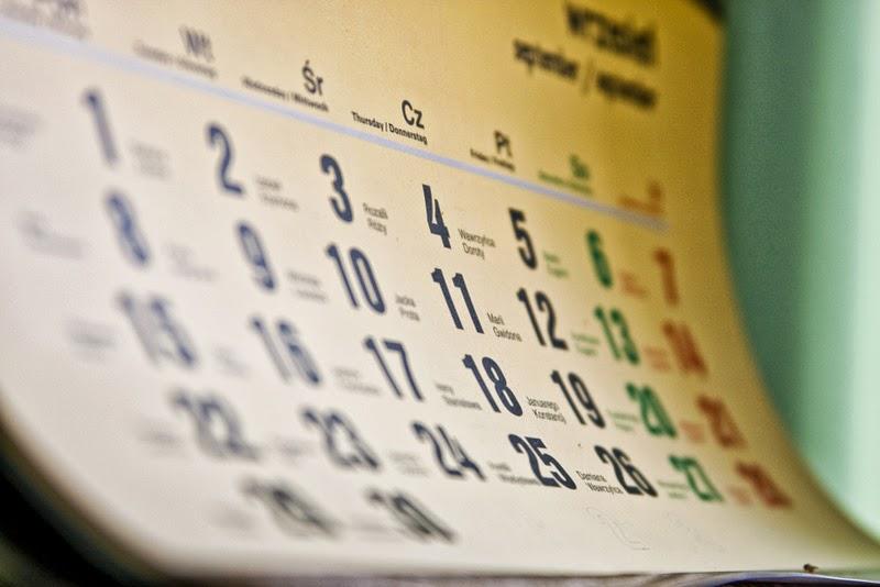Социальный календарь на 2017