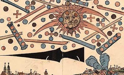 UFOs Above above Nuremberg - 1561
