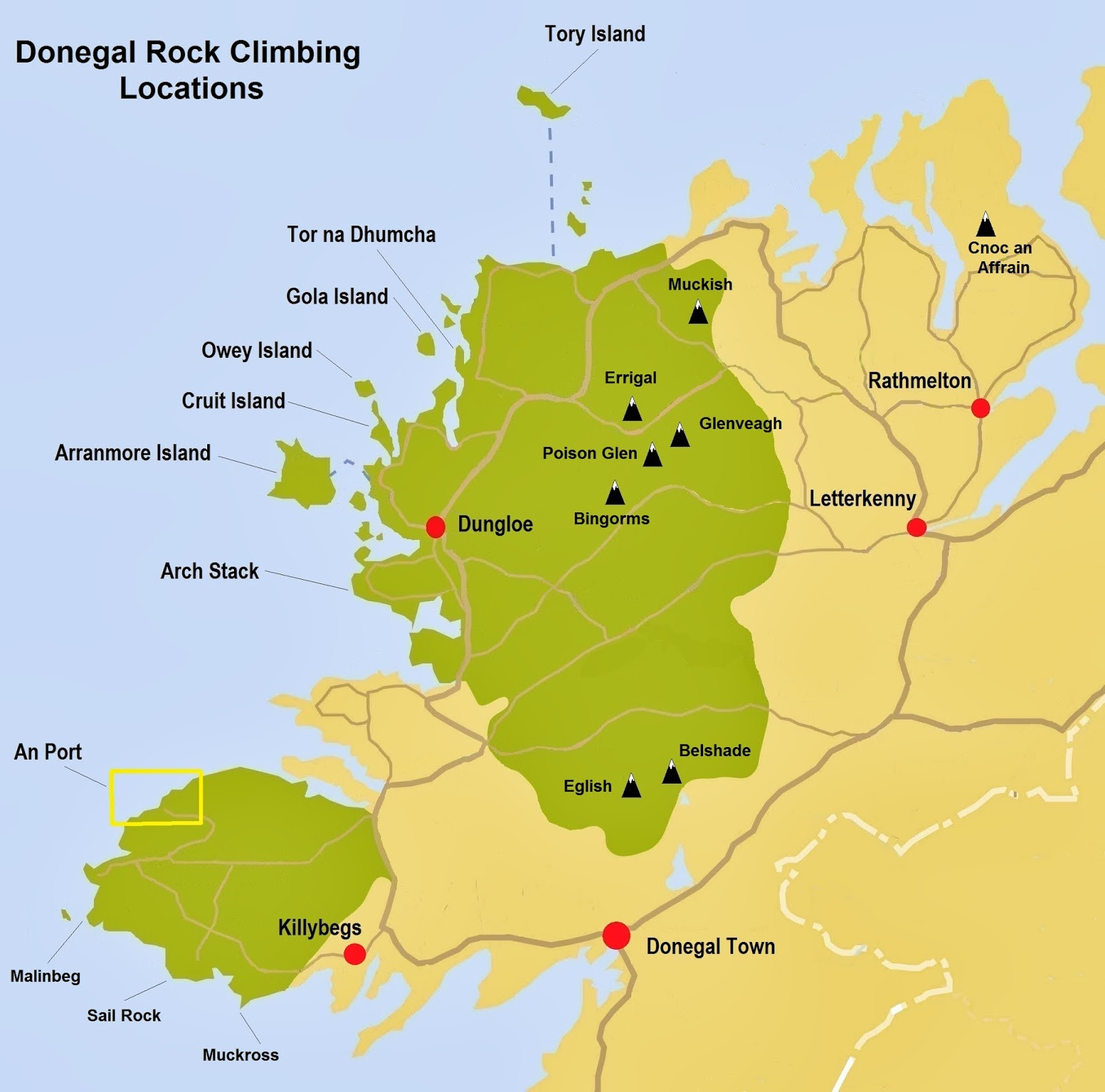 Donegal Rock Climbing. Unique Ascent: Donegal Rock Climbing 2013
