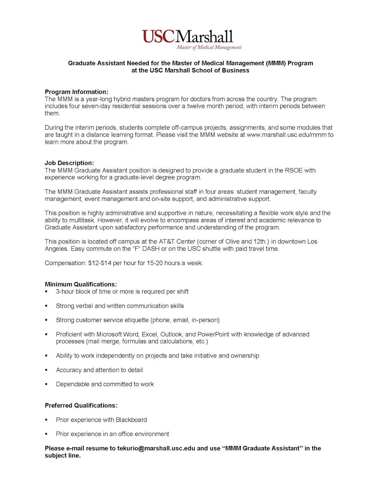 100 usc resume template sle manager resume
