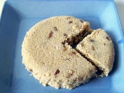 Coconut Date Couscous Cake