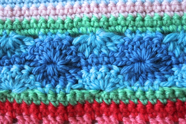 Crochet Stitches For Blankets : Different Crochet Stitches For Blankets Little woollie: mixed stitch ...