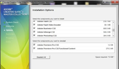 cs3 adobe collection for master keygen
