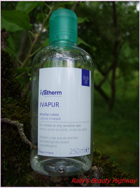 Review lotiune micelara Ivapur, Ivatherm