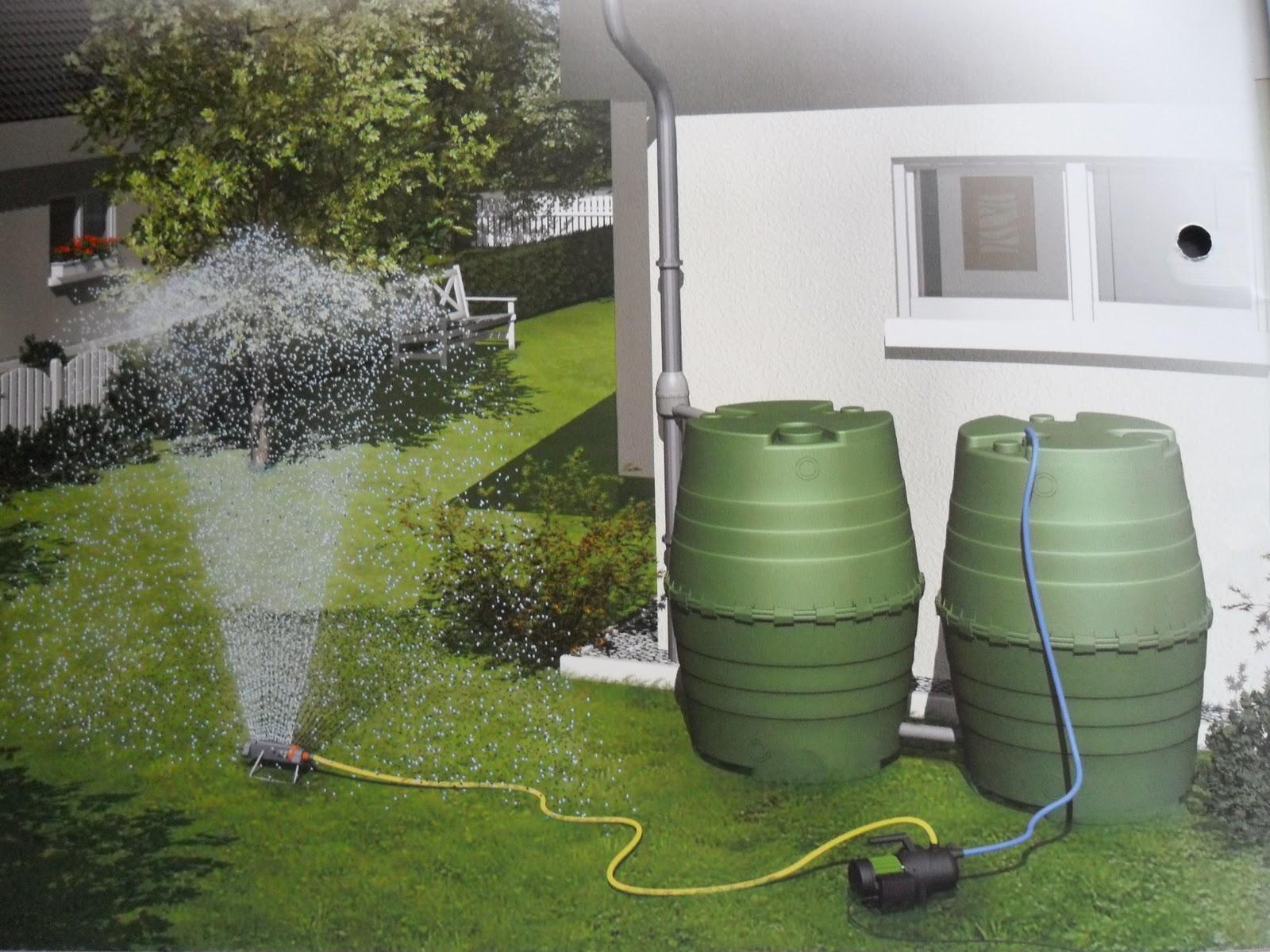 Consejos para t jard n cuidemos el medio ambiente ii - Recoger agua de lluvia ...
