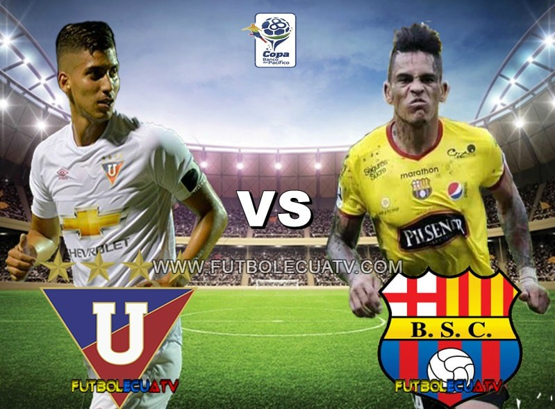 LIGA DE QUITO VS BARCELOONA SC!!!