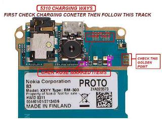 nokia 5310 charging