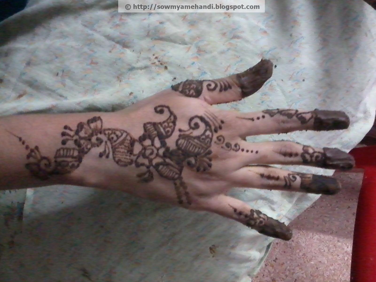 Sowmya S Mehndi Arabic Henna Designs