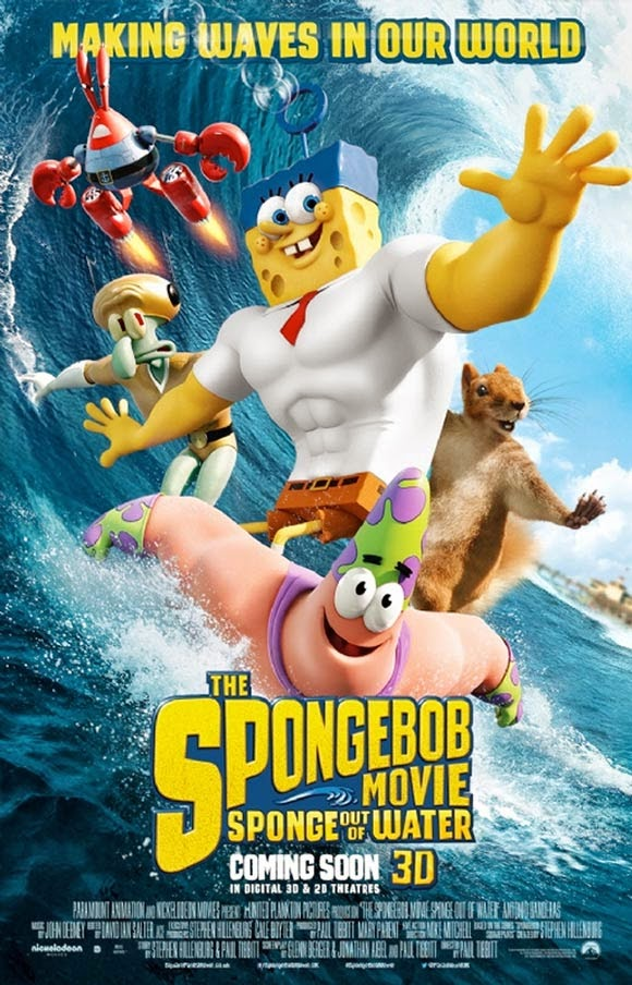 The SpongeBob Movie Sponge Out of Water 2015