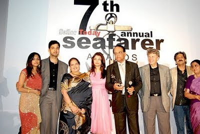 Aishwarya Rai Parents attending awards ceremony