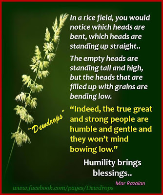 Blessings Quotes | Humility Brings Blessings Quotes
