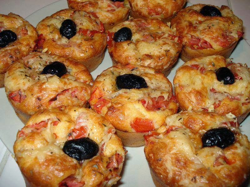 Recette des Muffins Pizza
