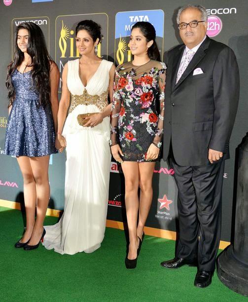 Actress Sri Devi Family Stills