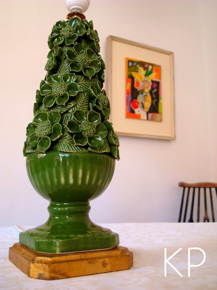 Kp Tienda Vintage Online L 225 Mpara Manises Verde Vintage