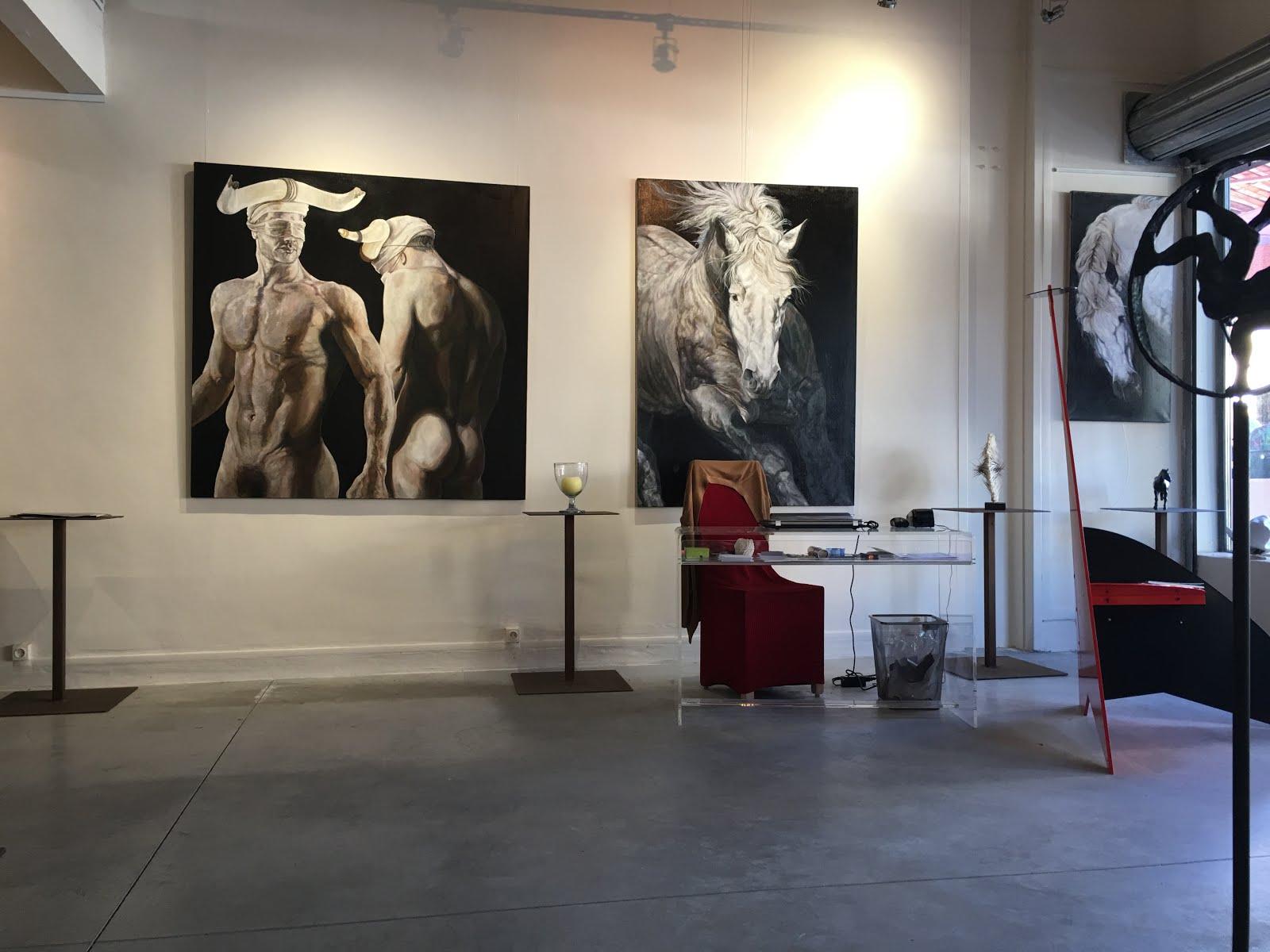 COUSTELLET (LUBERON) : LA GALERIE MONTESQUIEU EXPOSE CAPTON JUSQU'AU 4 SEPTEMBRE