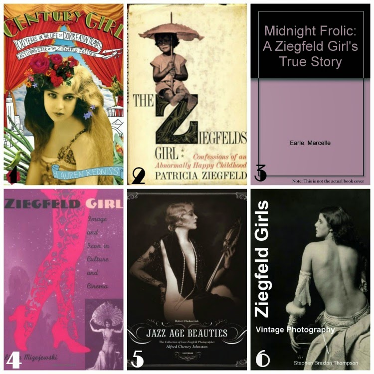 A Vintage Nerd, Vintage Blog, Ziegfeld Girls, Vintage Book Recommendation, Retro Lifestyle Blog, Vintage Lifestyle Blog