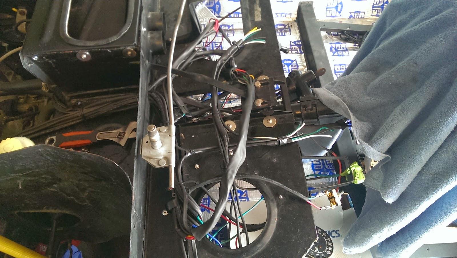 1971 Saab Sonett Iii Restoration  Wiring  Finished