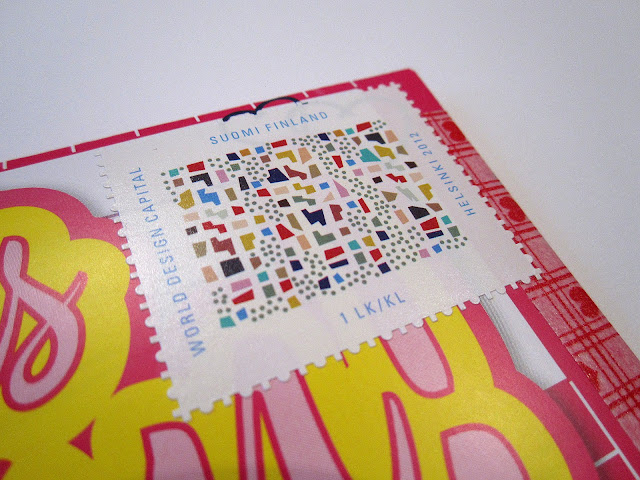 world design capital stamp