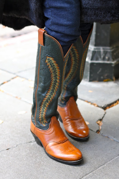 Seattle Street Style Cowboy boot
