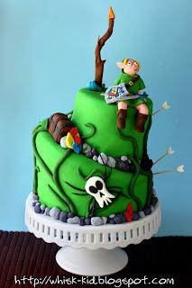 Zelda Link Birthday Cake
