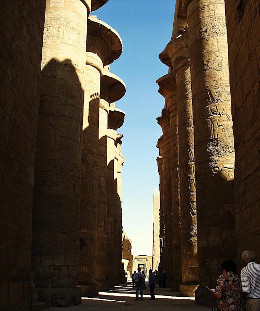 Karnak Temple hall