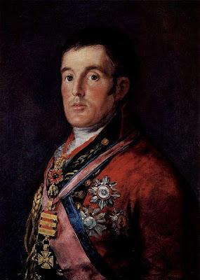 El duque de Wellington de Francisco de Goya, óleo sobre lienzo, 60 × 51 cm