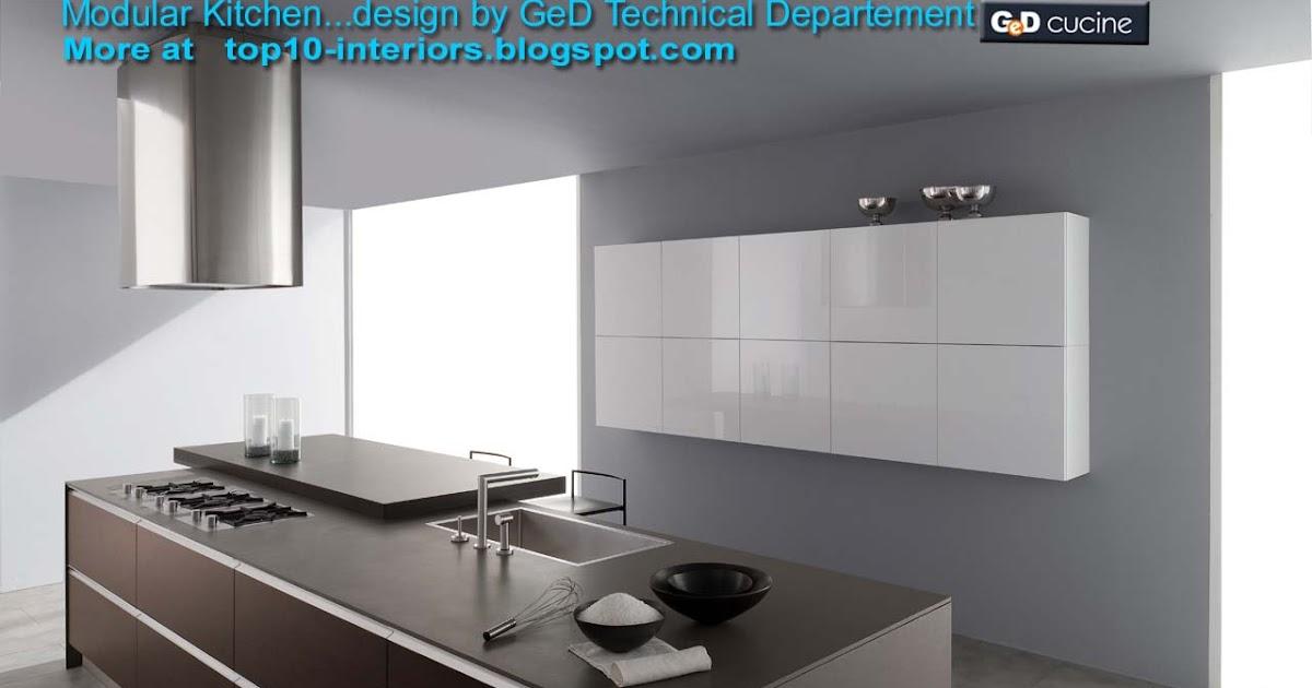 top 10 interiors: Top10 Modular Kitchen PART5 (10photos)