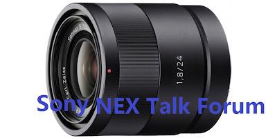 sony nex lens 24mm 50mm 55-210 zoom