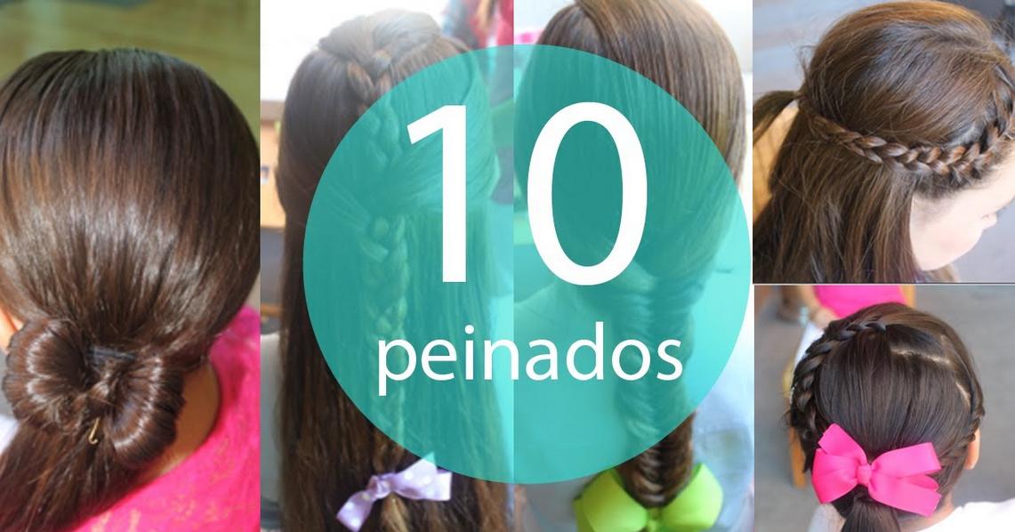 Hermosos Los 10 Peinados Faciles Y Rapidos Para Ninas Shared