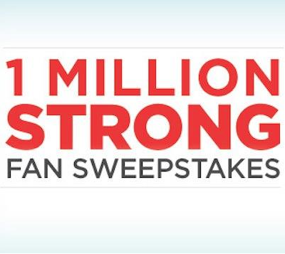 1 million strong sweepstakes
