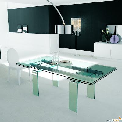 arredaclick italienisches designm bel blog ausziehbare. Black Bedroom Furniture Sets. Home Design Ideas